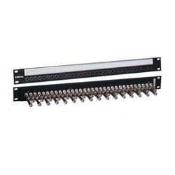 BitTree - B32S-1MWTHD - 1x32 1RU Video Patchbay Monitor Row