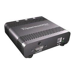 Matrox - MTX-T2G-DP-MIF - T2G-DP-IF TripleHead2Go Thunderbolt/DisplayPort Multi-Display-PC and Mac