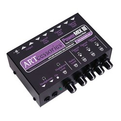 Applied Research & Technology - PWRMIX-3 - ART POWERMIX III - Three Channel Personal Stereo Mixer