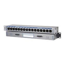 RME Audio - DTOX16IO - RME DTOX-16 IO Breakout Panel 8 XLR Inputs D-sub 25-pin Connector 8 XLR Outputs
