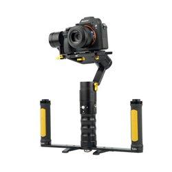 ikan - DS2-A-DGH-KIT - ikan DS2-A Dual Grip Handle Gimbal Kit