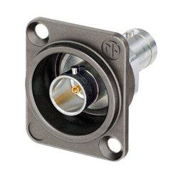 Neutrik - NBB75DFIX - Neutrik Isolated UHD BNC Feedthrough Chassis Connector