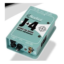 Radial Engineering - RAD-J4 - Radial J Plus-4 Stereo -10dB to Plus-4dB Line Driver