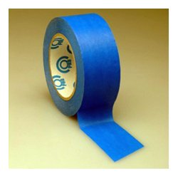 TecNec - BMASK1 - Blue Removable Masking Tape / Artist Tape 1in x 60yd