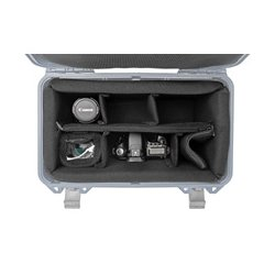 PortaBrace - PB-4100DKO - Portabrace Interior Padded Divider Kit for the PB-4100 Hard Case - Black