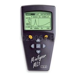 NTI - 600 000 011 - NTI 600 000 011 Minilyzer ML1, Analog Audio Analyzer