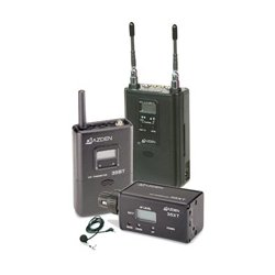 Azden - 330LH - Azden UHF Dual-Channel Wireless System - 566.13 MHz to 589.88 MHz Operating Frequency - 50 Hz to 15 kHz Frequency Response - 300 ft Operating Range