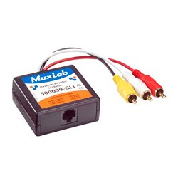 MuxLab - 500039-GLI - MuxLab 500039 Stereo Hi-Fi Video Balun w/ Ground Loop Isolation