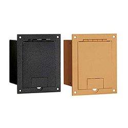 FSR - FL-1200-BLK - FL-1200 Floor Box (Black Sandtex)