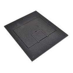 FSR - 17,556.00 - FL-500P-SLD-BLK-C U-Access Solid Cover with Cable Exit (No Trim) - Black