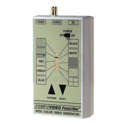 Compuvideo Sales - POCKETGEN-5 XLR - Compuvideo PocketGen 5XLR Handheld Video/Audio Tester with XLR
