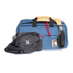 PortaBrace - CS-DV3U/QSM3 - PortaBrace Mini-DV Camera Case - Top-loading - Shoulder Strap - Cordura - Blue