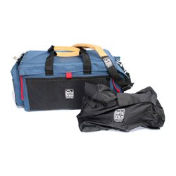 PortaBrace - DVO-1U/QSM4 - PortaBrace DV Organizer with Mini-Quick Slick - Shoulder Strap, Handle - Cordura