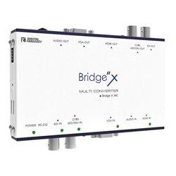Digital Forecast - X-MC - Bridge Multi Converter Converts Input CVBS AES/EBU SDI VGA Component Analog Audio & HDMI to Output