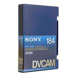 Sony - PDV184ME - Sony PDV184ME DVCAM Videocassette - DVCAM - 184 Minute