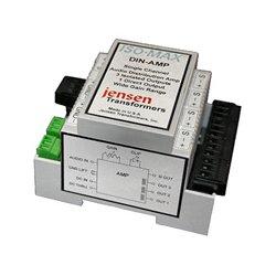 Jensen Transformers - J402-0026 - Jensen Transformer DIN-AMP Active 1x4 Audio Distribution Amplifier