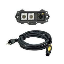 Neutrik - NXPRMANA - XIRIUM PRO NXP-RM-ANA US Receiver RX Analog Line Output Module - Includes NKXPF-5-15-3 PowerCon Cable