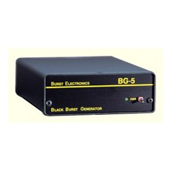 Burst Electronics - BG-5CBUNB - Burst BG-5CB-UNB 5-Output Unbalanced RCA Blackburst Generator with Color Bars