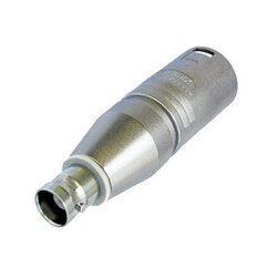 Neutrik - NA2MBNC - Neutrik NA2MBNC - Adapter XLR Male to BNC Socket