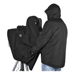 PortaBrace - CLK-3ENG - Porta-Brace Rain Cover for ENG Cameras - Black