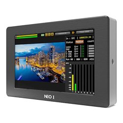 Digital Forecast - X-NEO1 - 3G SDI & HDMI In/Out Power Cross Converter with 5 Inch Monitor