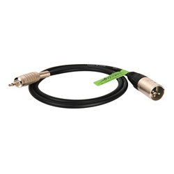 Sescom - SC15XMOE - Canare Star-Quad Cable XLR Male to 3.5mm TS Male 15 Foot - Orange