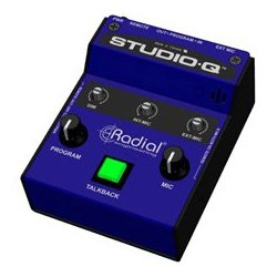 Radial Engineering - RAD-STUDIO-Q - Radial Studio Q Studio Talkback with Built In Mic - External Mic Input and Program Input