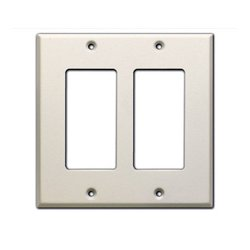 Radio Design Labs (RDL) - CP-2 - RDL Double Cover Plate - white