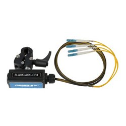 Camplex - BLACKJACK-OP4 - opticalCON QUAD to Four (4) LC Breakout Adapter - Singlemode with Clamp
