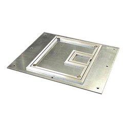 FSR - 17,549.00 - FL-500P-SLP-C Cover for the FL-500P with 1/4 Inch Aluminum Carpet Flange (Lift off door)