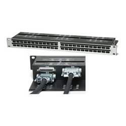 Redco Audio - R196-D25PG - Redco Audio 96 Point TT Bantam Patch Panel - 96 x TT (Bantam), DB-25