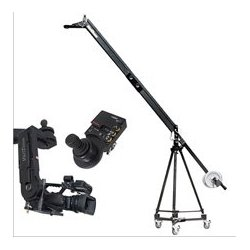 VariZoom - VZQJ2K-CPJ - QuickJig Camera Crane Kit With CinemaProJR-K4 remote head