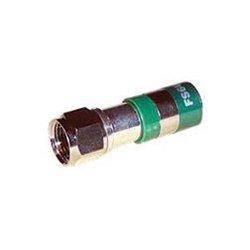 ICM - FS6PL - F-Conn FSNS6PL RG6 Plenum F Type Nickel Connector EACH