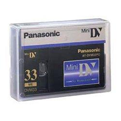 Panasonic - AY-DVM63PQ - Panasonic Mini DV Cassette - MiniDV - 42 Minute