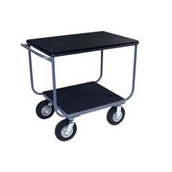 Jamco Products - TB236-N8-PS - Jamco 24x36 Instrument Cart with 2 Shelves and Power Strip