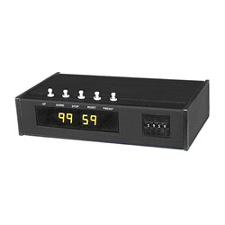 ESE - ES 362U P X - 100 Minute Master Timer with 19in. Front Panel and Three Relay outputs