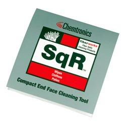 Chemtronics - SQR - Compact Fiber Optic Cleaning 4x4 Wipe Pad