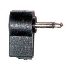 Calrad - 30-376 - Right Angle 3.5mm Mini Male Plug Cable End (mono)
