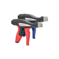 Hellermann Tyton - 110-80000 - Hellermann Tyton EVO 9 Mechanical Cable Tie Hand Tool - Standard Hand Span - 90 mm - Red
