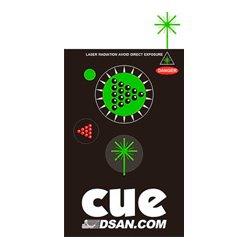 DSan - PC-AS3-GRN - Transmitter 3-Button (Forward Back & Green Laser)