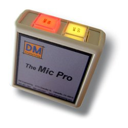 DM Engineering - THE MIC PRO - On/Off LED Lighted Mic Switching Module