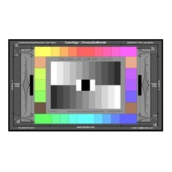 DSC Labs - SW23-CDM28R - DSC Labs SRW23-CDM28R ChromaDuMonde28R Color Correction Test Chart with Resolution - Standard 21.3 x 13