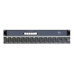 Coleman Audio - MS6 - Coleman Stereo Monitor Switcher 6 Balanced Inputs