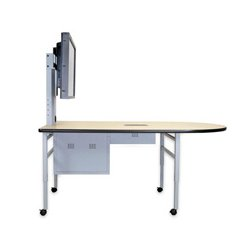 Dukane - DCTS6 - Dukane DCT6S Collaboration Table with Storage