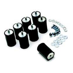 Skb Cases - 3skb-sa - Shock Rack Accessories Extra Shock Absorber Kit Set Of 8