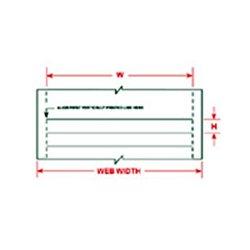 Brady - 29,768.00 - Brady LAT-28-747-25-SH 8.5x11 Inch Lasertab Labels