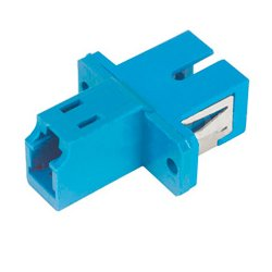 Camplex - FOA-LC-SC-SM - LC to SC Multimode Simplex Fiber Optic Coupler