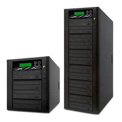 ILY Enterprise - D07-SSP - ILY Spartan D07-SSP CD/DVD Duplicator - StandaloneDVD-ROM, DVD-Writer - SATA