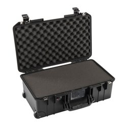 Pelican - 015350-0001-180 - Pelican Air 1535 Wheeled Carry-On Air Case with Foam - Silver