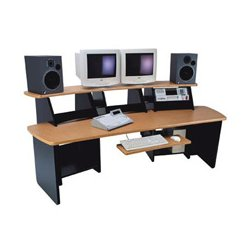Omnirax - FRC12-SC - Force 12 Audio Video Workstation (Storm Cirrus)